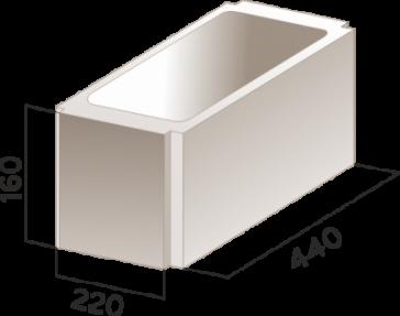 Вентиляционный блок (вентблок) КСР-ПС-44-1 - одноканальный