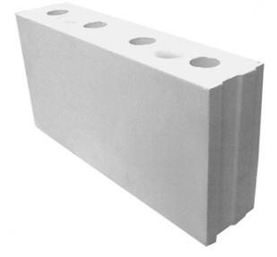 Пазогребневая плита силикатная перегородочная СППу М125-М150/1,6 (498х115х249)