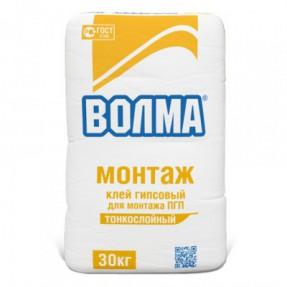 Клей гипсовый Волма Монтаж, 30кг