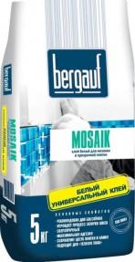Клей для плитки, мозаики и бассейнов Бергауф Мозаик (Bergauf Mosaik), 5кг