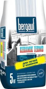Клей для облицовки печей и каминов Бергауф Керамик Термо (Bergauf Keramik Termo), 5кг