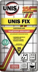 Клей для плитки Юнис Фикс (Unis Fix), 25кг