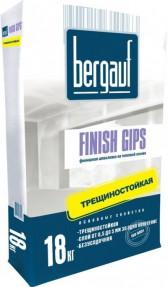 Шпаклевка Бергауф Финиш Гипс (Bergauf Finish Gips) для заделки швов ГКЛ, 18кг