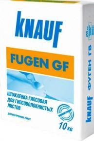 Шпаклевка гипсовая Кнауф Фуген ГВ (Knauf Fugen GF), 10кг