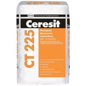 Шпаклевка фасадная финишная Церезит (Ceresit) СТ225, серая, 25кг