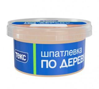Шпатлевка по дереву ПРОФИ береза 0,25кг ТЕКС (60шт/уп)