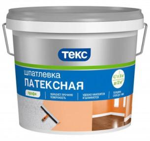 Шпатлевка Латексная ПРОФИ 8кг ТЕКС (1шт/уп)