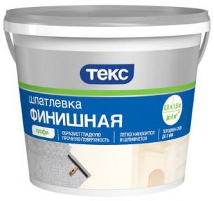 Шпатлевка финишная ПРОФИ 1,5кг ТЕКС (18шт/уп)