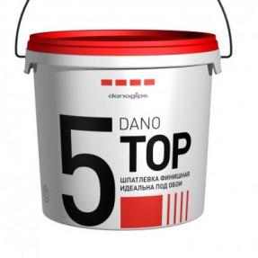 Шпаклевка финишная ДаноТоп-5 (DanoTop-5) белая 3,5л, 5,6кг