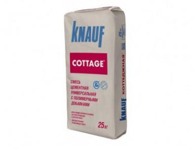 Штукатурка цементная Кнауф Коттеджная (Knauf Cottage), 25кг