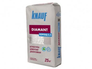 Штукатурка Кнауф Диамант Короед 2,5мм (Knauf Diamant Короед 2,5мм), 25кг