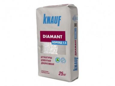 Штукатурка Кнауф Диамант Короед 1,5мм (Knauf Diamant Короед 1,5мм), 25кг