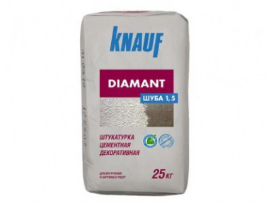 Штукатурка Кнауф Диамант Шуба 1,5мм (Knauf Diamant Шуба 1,5мм), 25кг