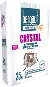 Штукатурка Бергауф Кристал (Bergauf Crystal) камешковая 2,0-2,5мм, 25кг