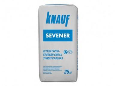 Штукатурно-клеевая смесь Кнауф Севенер (Knauf Sevener), 25кг
