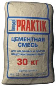 Цементная смесь для кладочных и общестроительных работ Бергауф Практик М-100 (Bergauf Praktik М-100), 30кг