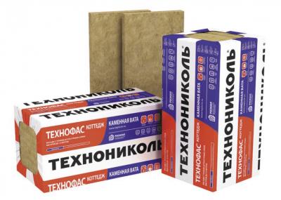 Минераловатная теплоизоляция Техноблок Стандарт 45кг/м3 (1200*600*170х3; 0,3672м3/уп)