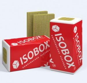 Минераловатная плита Изобокс Лайт, 35 кг/м3 (1200*600*100х6, 0,432 м3/уп, 16 уп/палл)