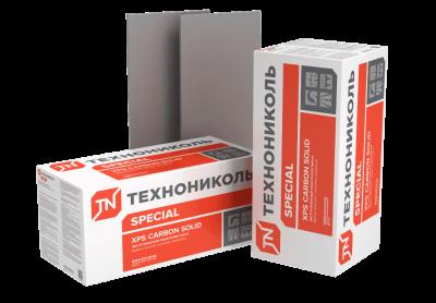 Экструзионный пенополистирол ТЕХНОНИКОЛЬ XPS CARBON SOLID 500 (1180*580*60х7; 0,28744м3/уп)
