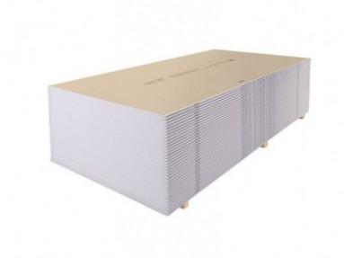 Гипсокартон ГСП-А с прямой кромкой (ГКЛ ПК) 3000*1200*12,5мм Кнауф (Knauf)