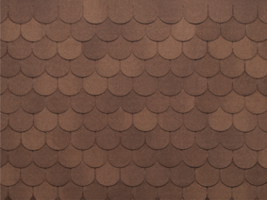 Черепица Нордленд Антик коричневый с отливом (3,50м2/уп)