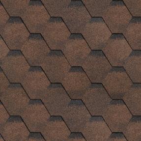 Черепица гибкая Технониколь Финская соната коричневый (3м2/упак, 36уп/пал)