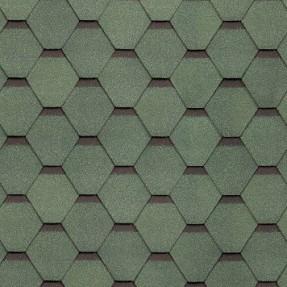 Черепица гибкая Технониколь Самба малахит (3м2/уп, 36 уп/пал)