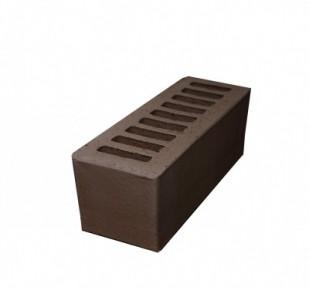 Кирпич лицевой керамический Евро 0,96 НФ пустотелый, цвет шоколад (РКЗ)