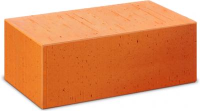 Кирпич строительный полнотелый утолщенный М-125 (СПП)