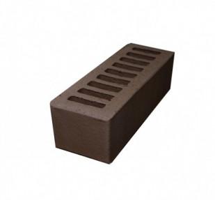Кирпич лицевой керамический Евро 0,7 НФ пустотелый, цвет шоколад (РКЗ)
